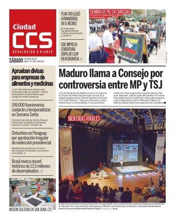Maduro llama a Consejo por controversia entre MP y TSJ