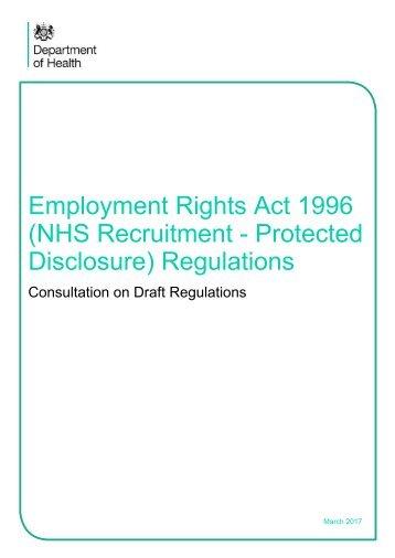 Disclosure) Regulations