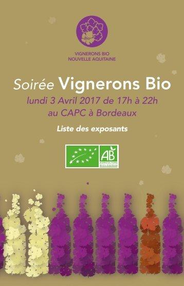 Vignerons Bio