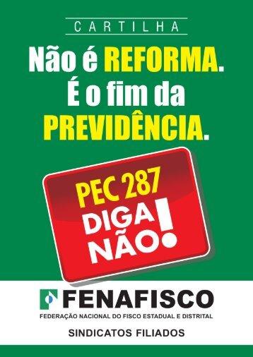 Cartilha PEC 287 DIGA NAO