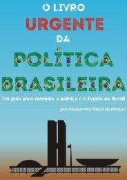 O livro Urgente Da Politica Brasileira