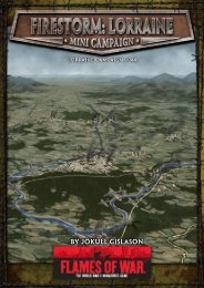 Firestorm: Lorraine Campaign - Flames of War