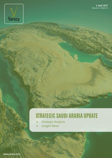 STRATEGIC SAUDI ARABIA UPDATE