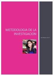 La metodología de la investigación revista