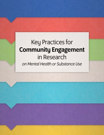 Key Practices for Community Engagement in Research