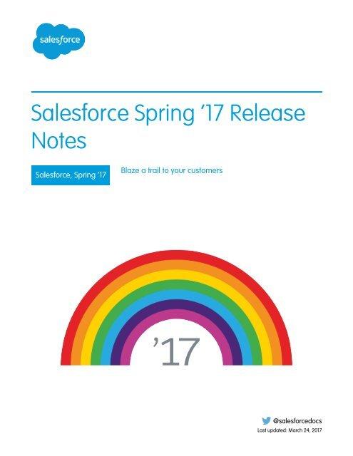 Salesforce リリース ノート
