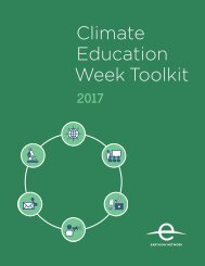 Climate Education Week Toolkit 1Climate