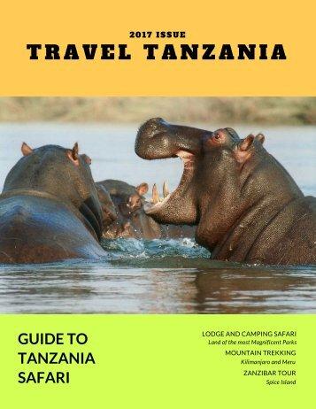 Hippo Travel Magazine Cover