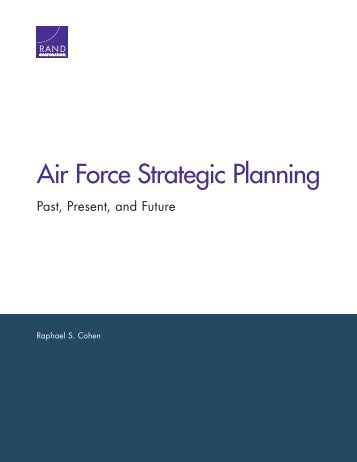 Air Force Strategic Planning