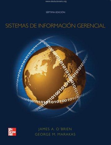 Sistemas de información gerencial - O'Brien & Marakas - 7ed