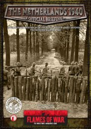 The Netherlands 1940 Intelligence Briefing PDF... - Flames of War