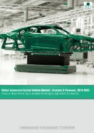 Global Automated Guided Vehicle Market Trends 2016