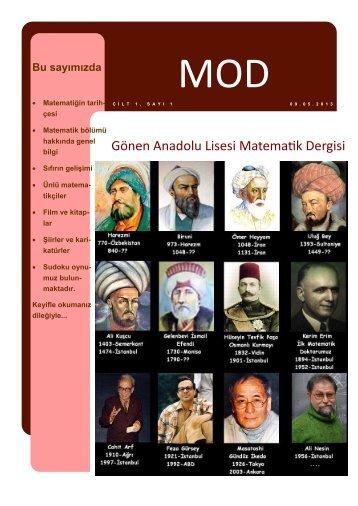 Matematik Dergisi