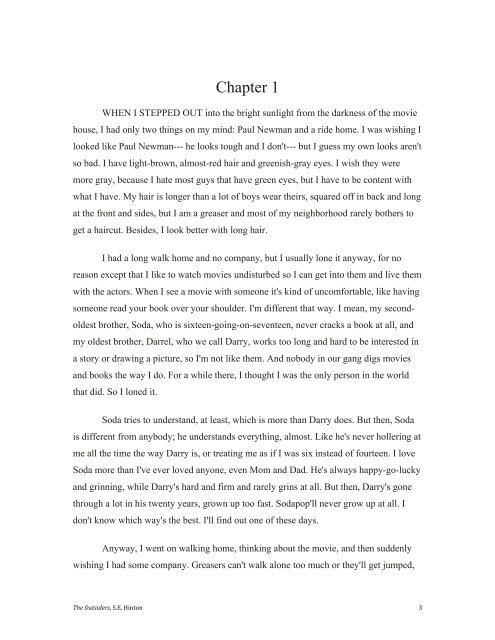 Chapter Index Chapter 1