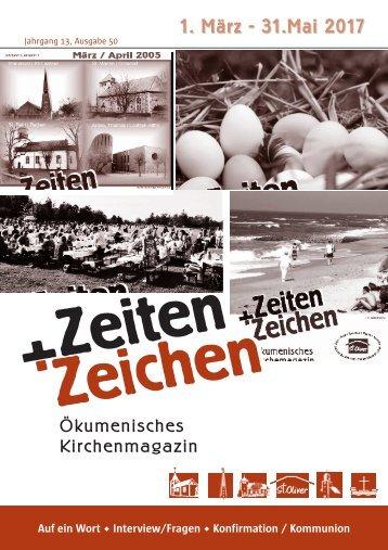 """Gemeindebrief """"Zeiten und Zeichen"""""""