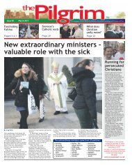 Issue 58 - The Pilgrim - March 2017 - The newspaper of the Archdiocese of Southwark