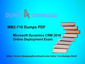 [100% Valid!]MB2-710 Dumps-MB2-710 PDF-MB2-710 VCE 50Q&As