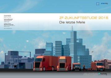 ZF-ZUKUNFTSSTUDIE 2016 Die letzte Meile