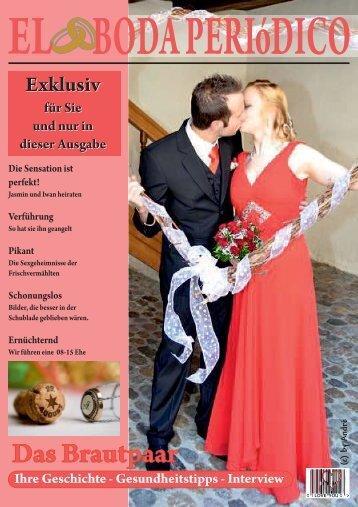 Hochzeitszeitung von Jasmin & Iwan