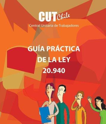 GUÍA PRÁCTICA DE LA LEY 20.940