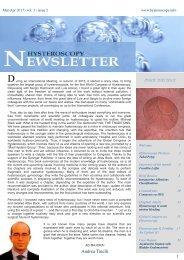 Hysteroscopy Newsletter Vol 3 Issue 2 English