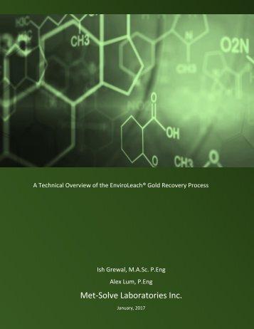 Met-Solve Laboratories Inc