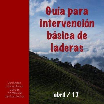 Guía para Intervención Básica de Laderas