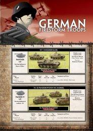 Firestorm Troops - Flames of War