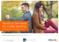 World on the move for mobile banking