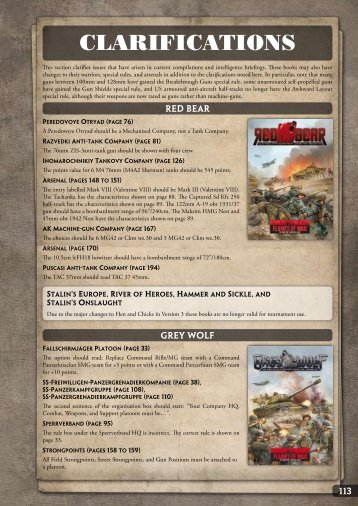 Download a PDF version (972KB) of the Know - Flames of War