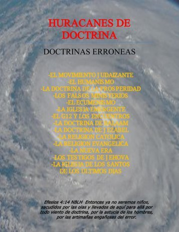 Doctrinas Erroneas
