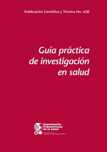GUIA PRACTICA PARA INVESTIGACION EN SALUD
