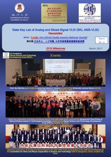 AMSV Newsletter 2016