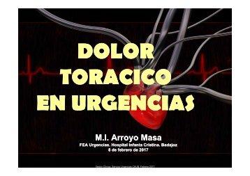 TORACICO EN URGENCIAS