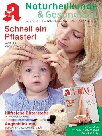 """Leseprobe """"Naturheilkunde & Gesundheit"""" April 2017"""