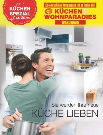 Küchenkatalog 2017 Küchen- & Wohnparadies Wasungen