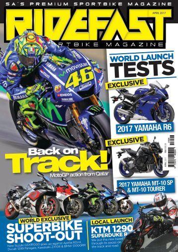 RideFast Magazine April 2017