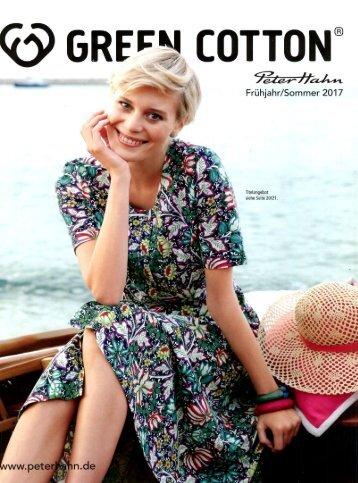 Каталог Peter Hahn Green Cotton весна-лето 2017. Заказ одежды на www.catalogi.ru или по тел. +74955404949