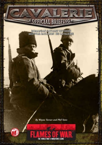 Download the Cavalerie PDF here… - Flames of War