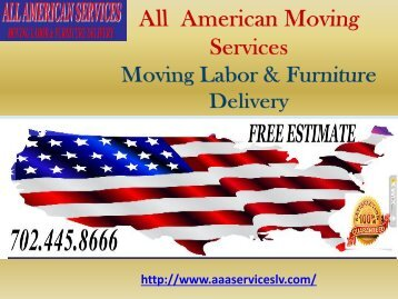 Long Distance Moves Las Vegas| All American Services