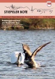 Stiepeler Bote 250 - April 2017