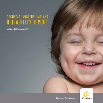 RELIABILITY REPORT