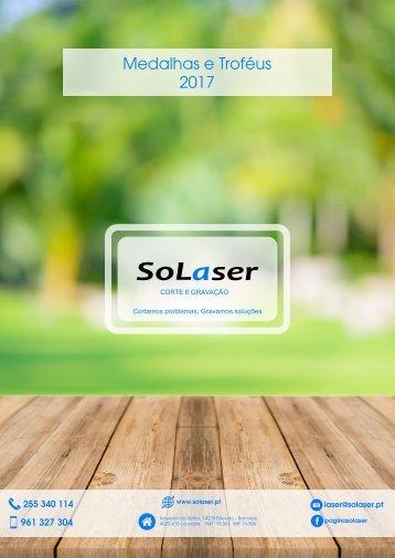 Catálogo Solaser - Medalhas e Troféus 2017