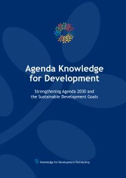 Agenda Knowledge for Development