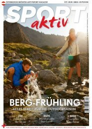SPORTaktiv Magazin April 2017
