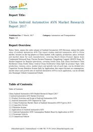 China Android Automotive AVN Market Research Report 2017