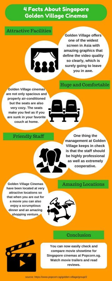 4 Facts About Singapore Golden Village Cinemas