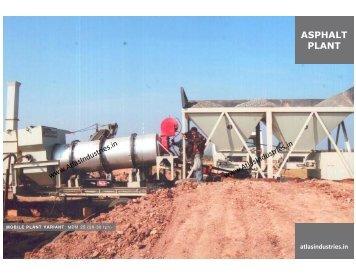 Asphalt Drum Mix Plant | Mobile asphalt plant | Exporter