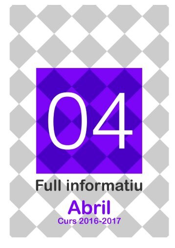 Full informatiu abril 2017