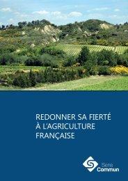Redonner sa fierté à l'agriculture française